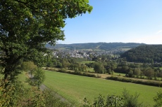 Lennesteig #09: Saalhausen - Schmallenberg - Blick auf Schmallenberg