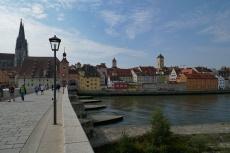 Regensburg - Steinerne Brücke und Dom