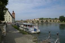 Regensburg - Donau und Steinerne Brücke
