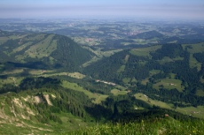 Blick Richtung Oberstaufen
