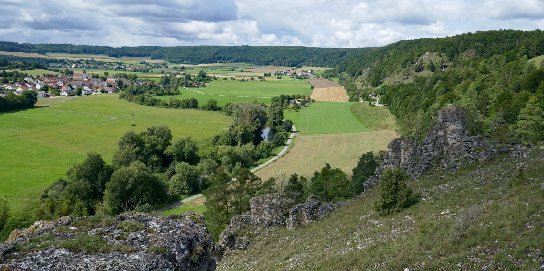 Altmühltal-Panoramaweg von Walting nach Arnsberg - Gungoldinger Wachholderheide