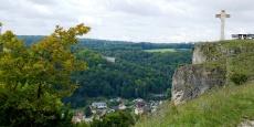 Altmühltal-Panoramaweg von Arnsberg nach Kinding - Gipfel des Schellenbergs