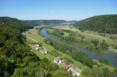 Altmühltal-Panoramaweg von Meihern nach Jachenhausen - Blick von der Burgruine Eggersberg
