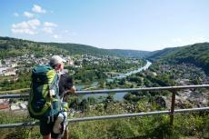 Altmühltal-Panoramaweg von Jachenhausen nach Prunn - Variante Drei-Burgen-Steig