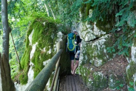 Altmühltal-Panoramaweg von Jachenhausen nach Prunn - Naturschutzgebiet Klamm