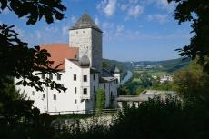 Altmühltal-Panoramaweg von Prunn nach Kelheim - Schloss Prunn