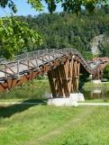 Altmühltal-Panoramaweg von Prunn nach Kelheim - Tatzelwurmbrücke