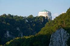 Altmühltal-Panoramaweg von Prunn nach Kelheim - Befreiungshalle bei Kelheim