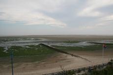 Amrum: Kniepsand bei Niedrigwasser