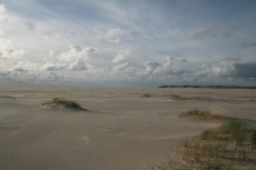 Amrum: Menschenleere Sandlandschaft