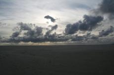 Amrum: Sand und Wolken