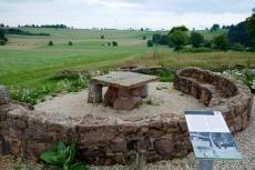 Vulkan-Pfad von Steffeln nach Gerolstein - römische Villenanlage