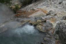 Heisse Quellen in Furnas