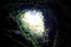Algar do Carvao - der Blick aus dem Vulkan