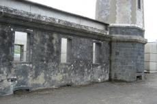 Leuchtturm - Erdgeschoss unter Asche