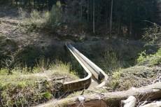 Bergischer Streifzug #15 - Bergbauweg - Brücke des Brunsbach über die Eisenbahnstrecke