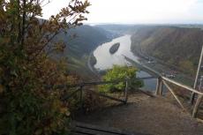 30. Int. Rhein-Mosel-Marathon - Blick von der Hitzlay
