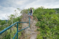 NaturWanderPark delux: Nat'Our Route 5 – Vianden-Falkenstein - Abstieg nach Vianden