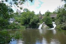 Traumpfad Pyrmonter Felsensteig - Wasserfall bei der Pyrmonter Mühle