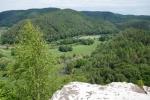 Premiumwanderweg Römerpfad - Blick von der Geyersley