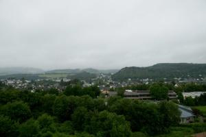 Eifelsteig #10: Von Gerolstein nach Neroth - Blick aus dem Hotelzimmer