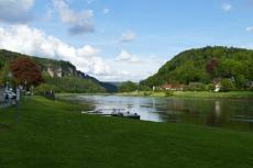 Malerweg #1 - Die Elbe bei Wehlen