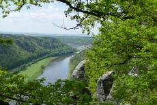Malerweg #2 - Blick auf die Elbe von der Bastei