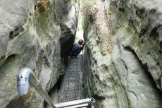 Malerweg #6 - Abstieg durch die Falkenschlucht