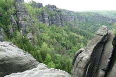 Stiegentour: Wilde Hölle & Heilige Stiege - Blick von der Heiligen Stiege