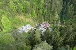 Malerweg #2 - Blick vom Hockstein auf das Gasthaus im Polenztal