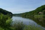 Malerweg #8 - Die Elbe bei Obervogelgesang