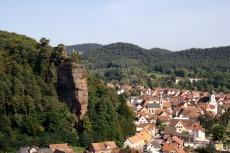 Felsenland Sagenweg - Dahn mit Jungfernsprung