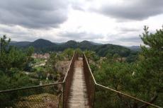 Felsenland Sagenweg - Steg zum Felslandblick