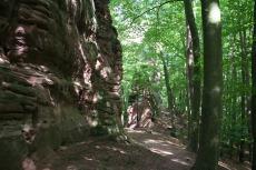 Felsenland Sagenweg - Fladensteine