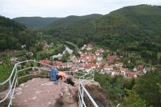 Felsenland Sagenweg - Pfaffenfels über Schönau