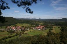 Felsenland Sagenweg - Rumbach vom Christkindelfels