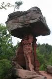 Felsenland Sagenweg - Teufelstisch