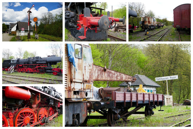 Bergische Wanderungen: Wald-Wasser-Wolle-Weg - Bahnhof Dahlhausen