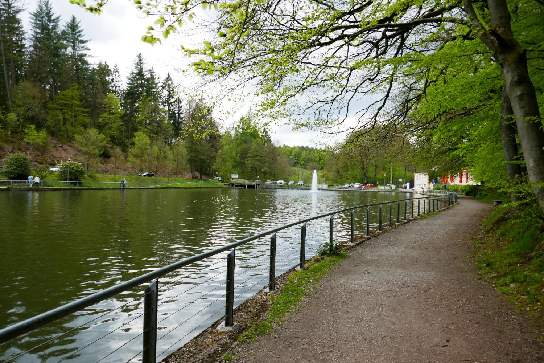 Bergische Wanderungen: Wald-Wasser-Wolle-Weg - Uelfebad