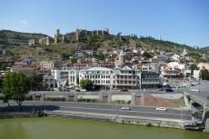 Georgien - Tiflis, Festung Nariqala
