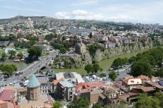 Georgien - Tiflis, Metechi-Kirche