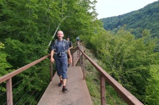 Georgien - Wanderung im Okatse-Canyon