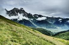 Georgien - Wanderung über den Baki-Pass