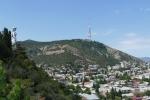 Georgien - Tiflis, Mutter Kartli und Fernsehturm