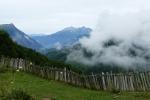 Georgien - Wanderung über den Baki-Pass, kurz nach dem Start in Etseri