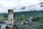 Georgien - Wehrturm in Mulashi