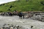Georgien - Flussquerung