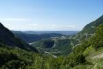 Georgien - Rückfahrt nach Tiflis, Enguri-Tal