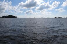 Mit dem Hausboot durch Friesland - Heegermeer