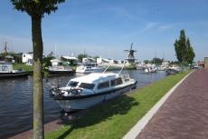 Mit dem Hausboot durch Friesland - Joure